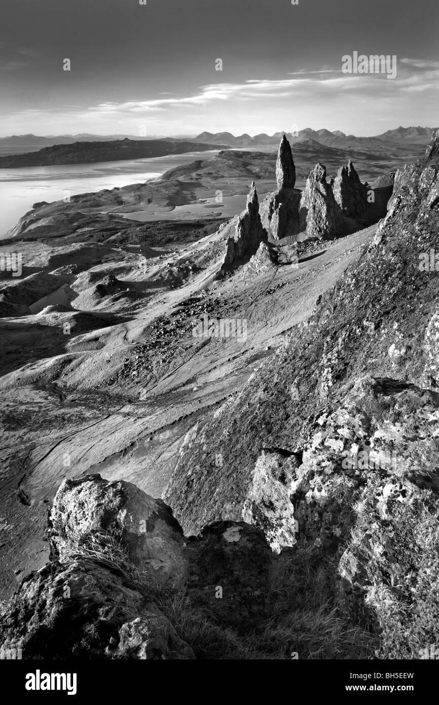 Old man of Storr, Isle of Skye - Stock Image