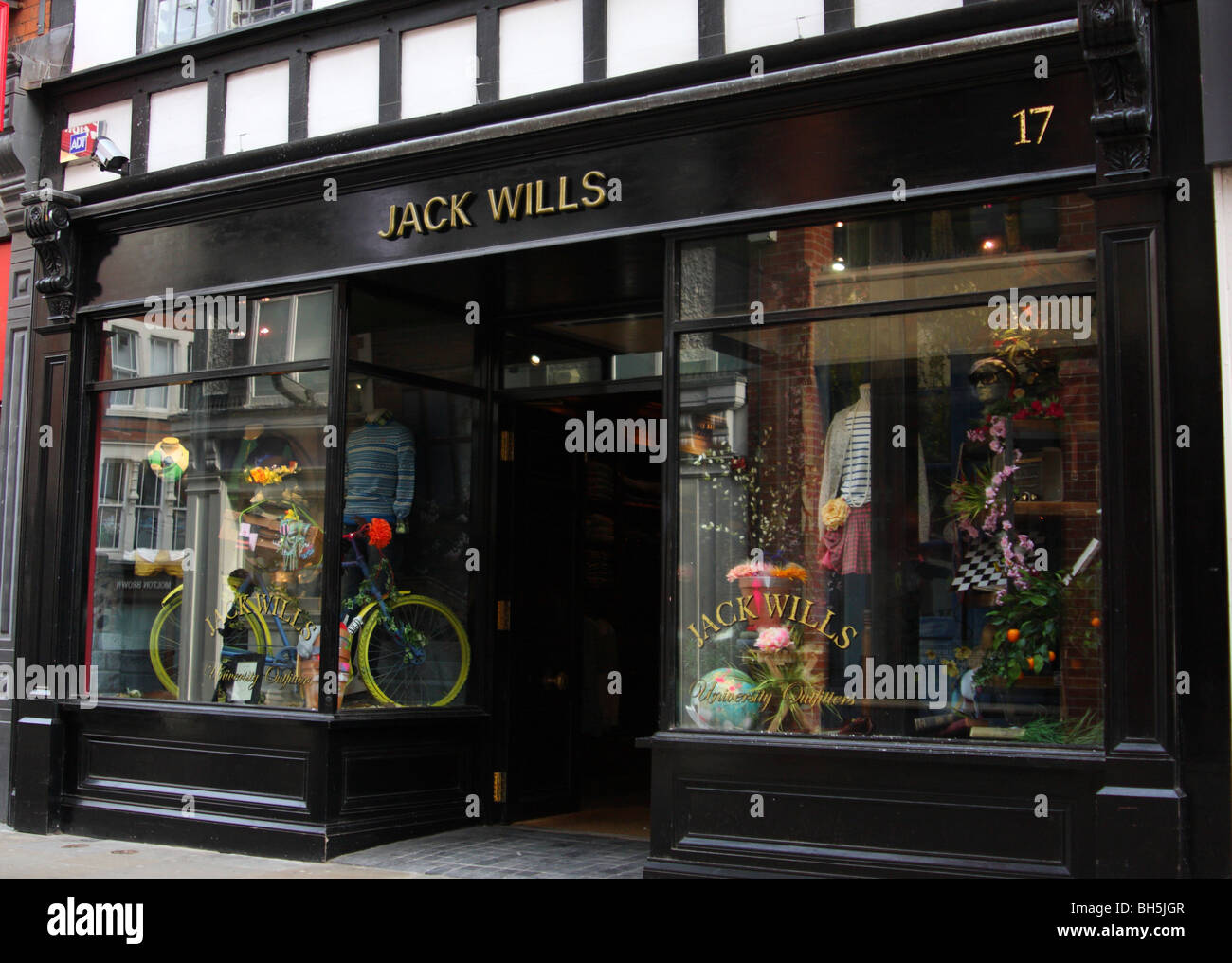 A Jack Wills retail outlet in Nottingham, England, U.K. - Stock Image