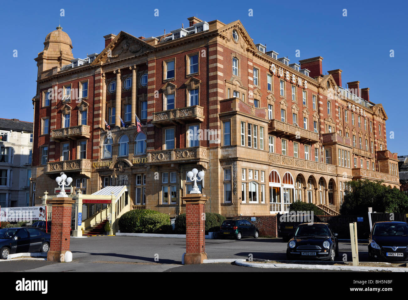 Queens Hotel Southsea Portsmouth Hampshire England Uk Stock Photo 27786067 Alamy
