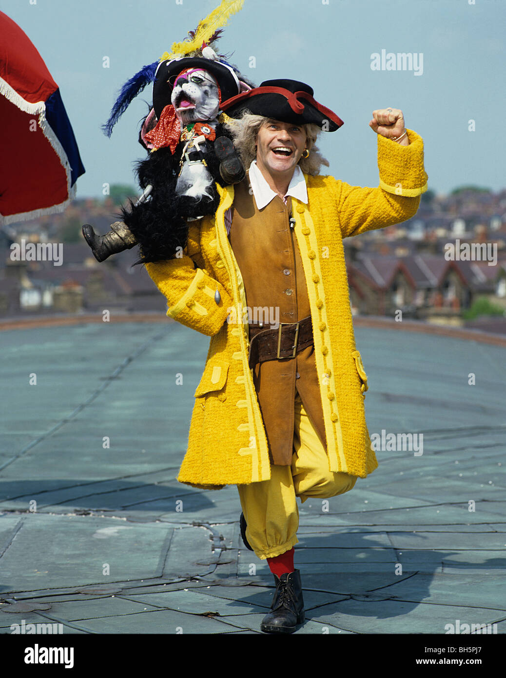 Freddie Starr as Pirate - Stock Image