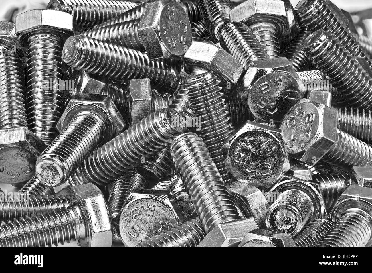 Bolts - Stock Image
