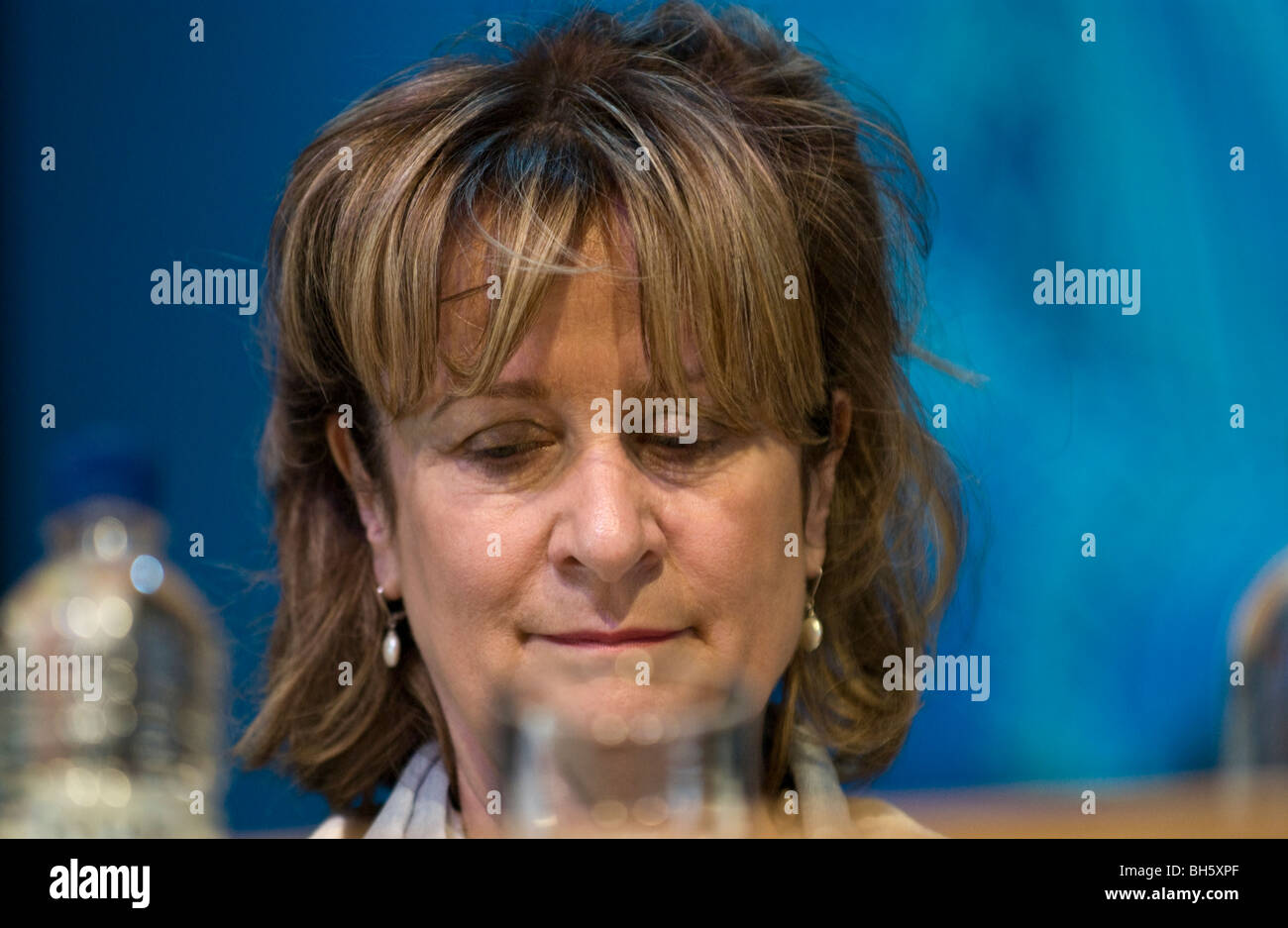 Helena Kennedy QC pictured at Hay Festival 2009. - Stock Image