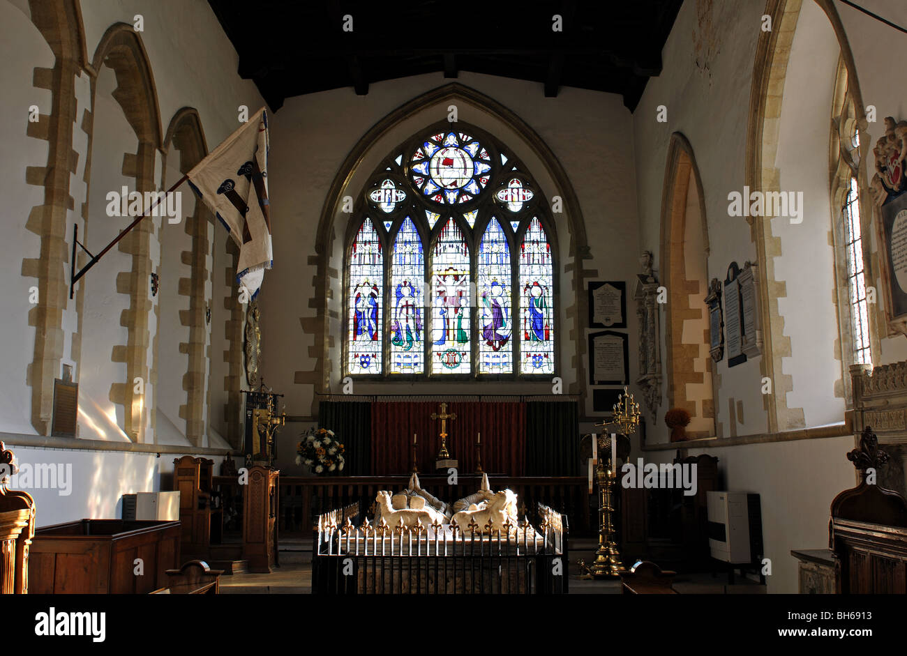 St. Mary`s Church, Thame, Oxfordshire, England, UK - Stock Image