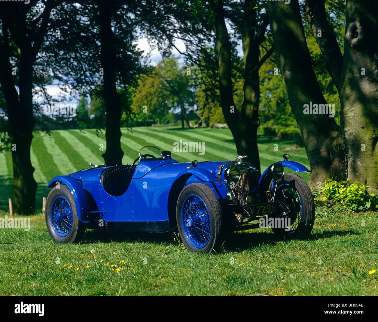 Vintage Car, Riley - Stock Image