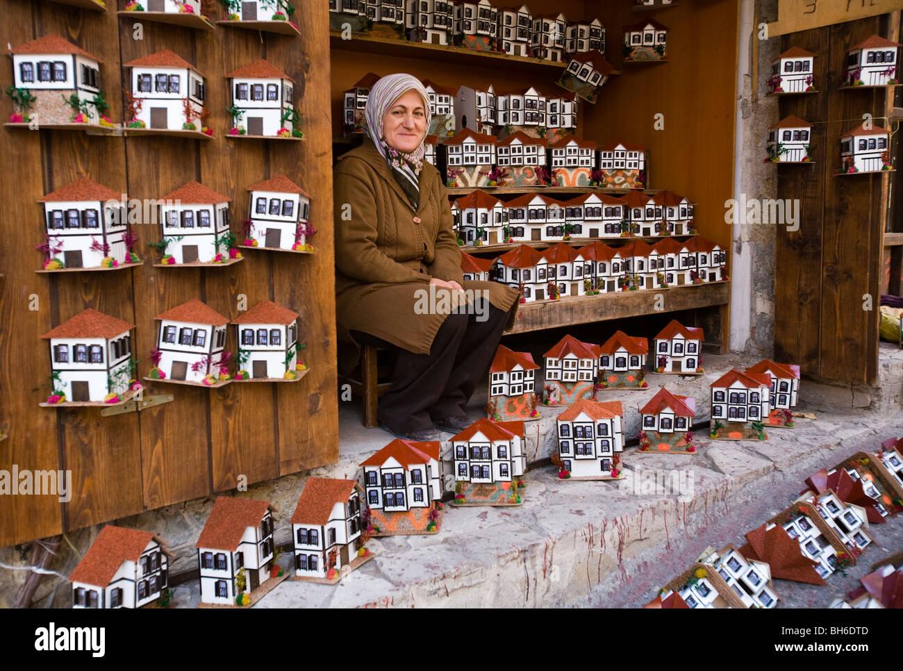 Gift shop in Safranbolu Turkey - Stock Image