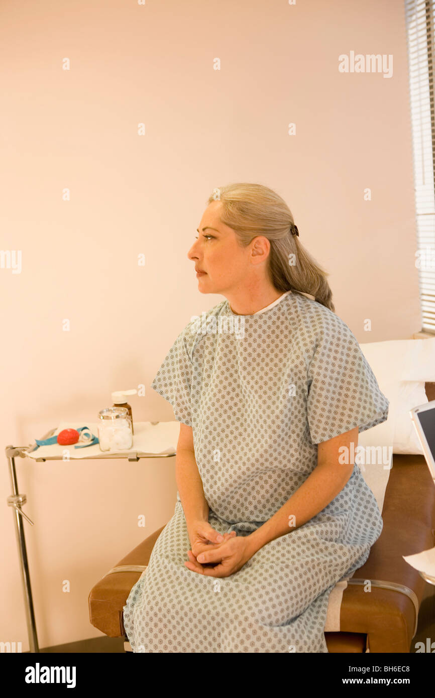 Visit to Doctor's office - Stock Image