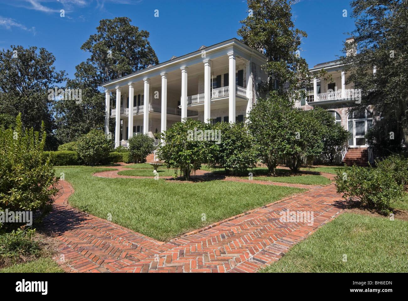 Pebble Hill Plantation House And Garden, Georgia, USA