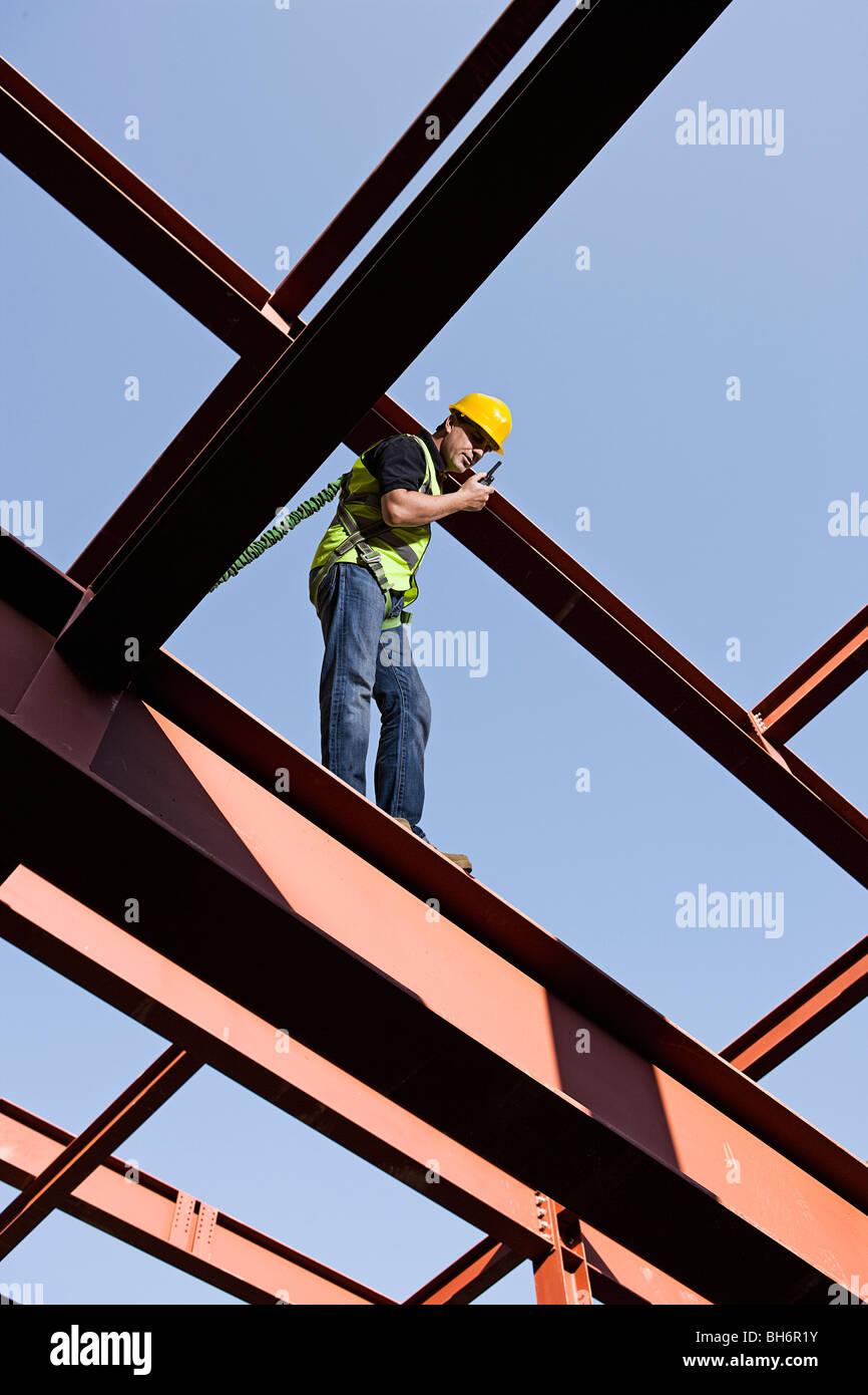 Steel worker 03 - Stock Image
