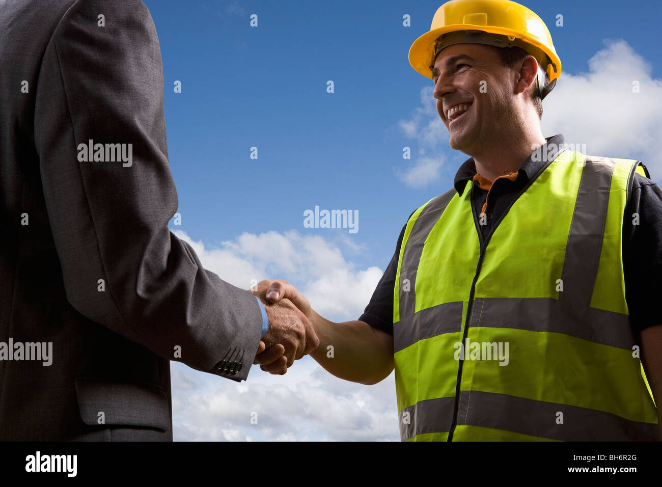 Total agreement - Stock Image