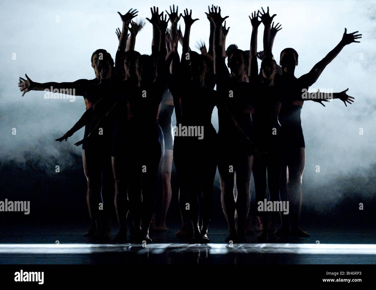 Birmingham Royal Ballet. Quantum Leaps. E=mc². Energy. - Stock Image