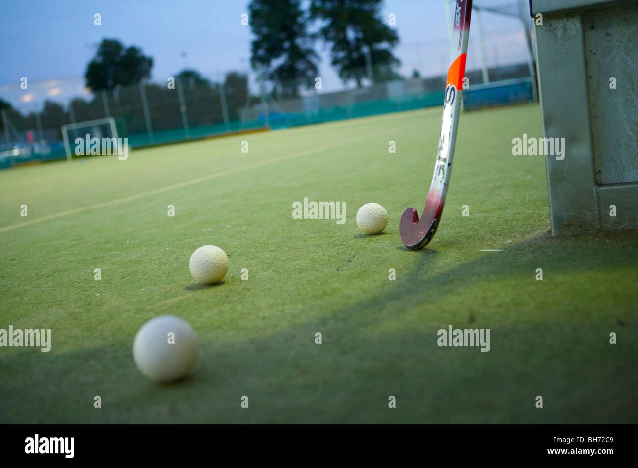hockey, training, tactics, coach, exercise, students, uk, college, university, club, team, coaching, train, keep, - Stock Image