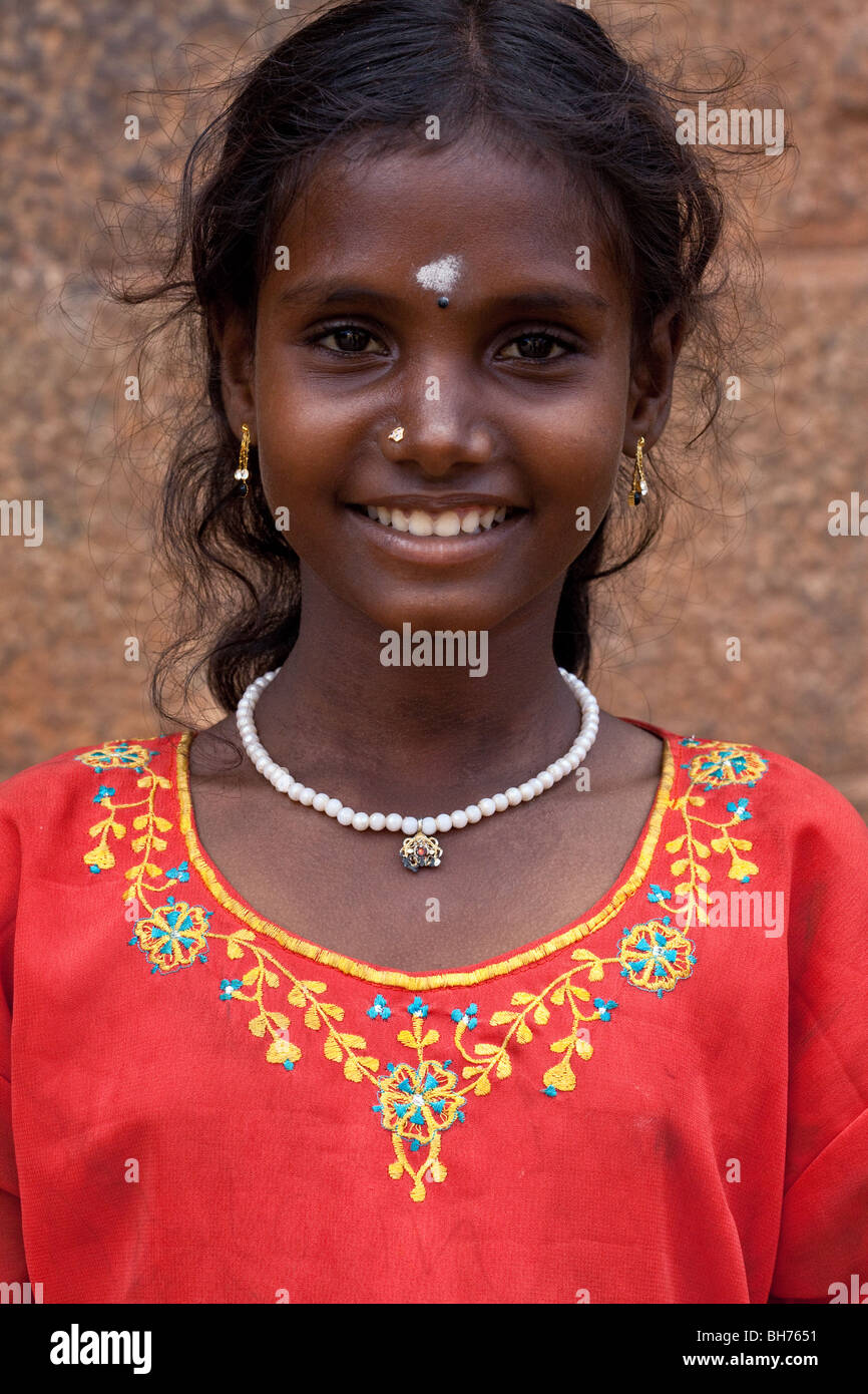 Indian Village Girl Stock Photos & Indian Village Girl ...