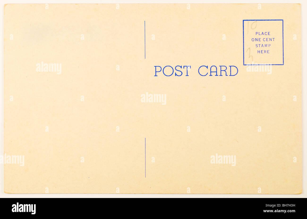 Retro Bakelite Radio Die Cut Days Gone By Blank Postcard w//Mailing Envelope NEW