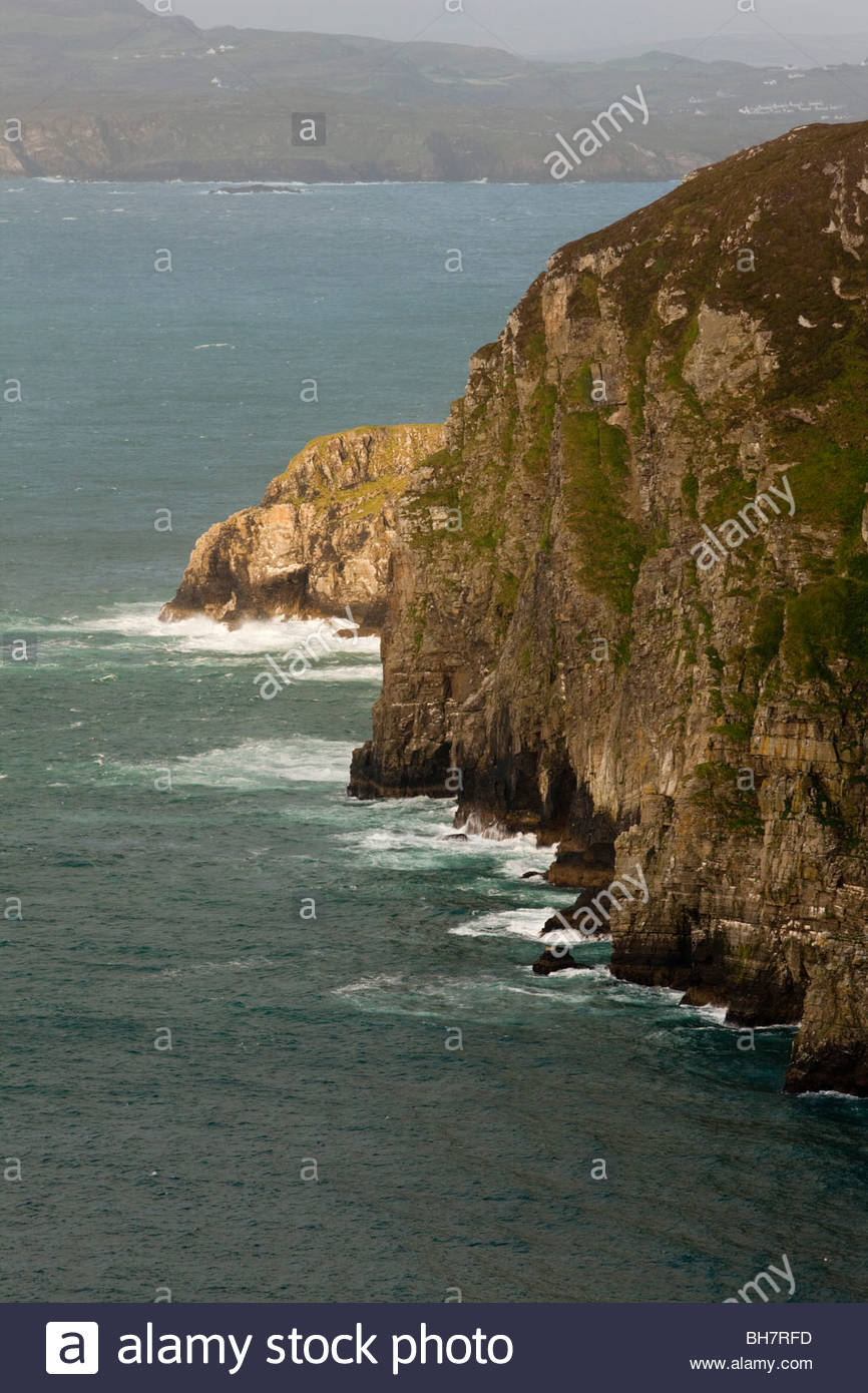 Horn Head Peninsula, County Donegal, Ireland near Dunfanaghy - Stock Image