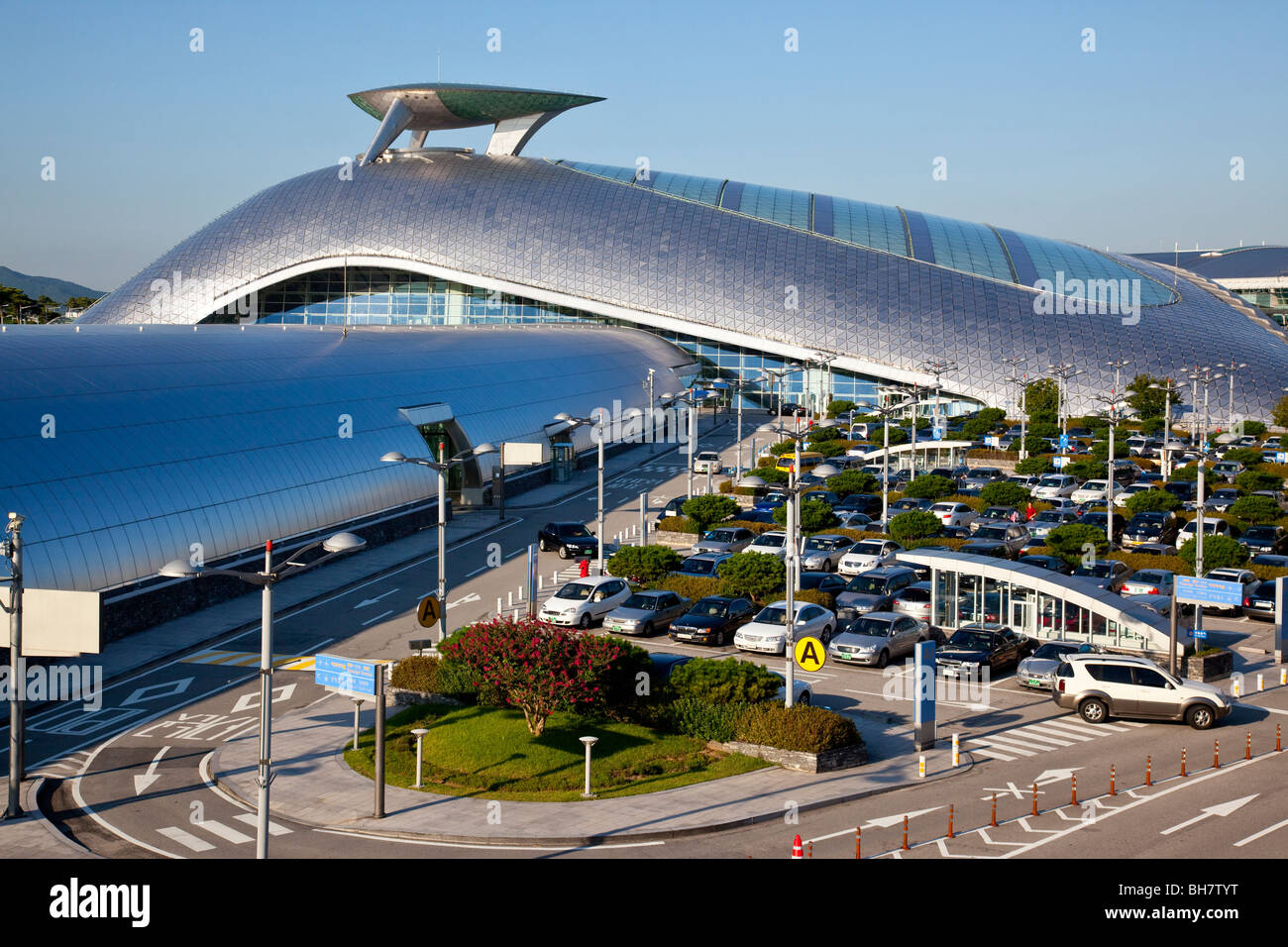 Incheon International Airport in Seoul South Korea Stock Photo ...