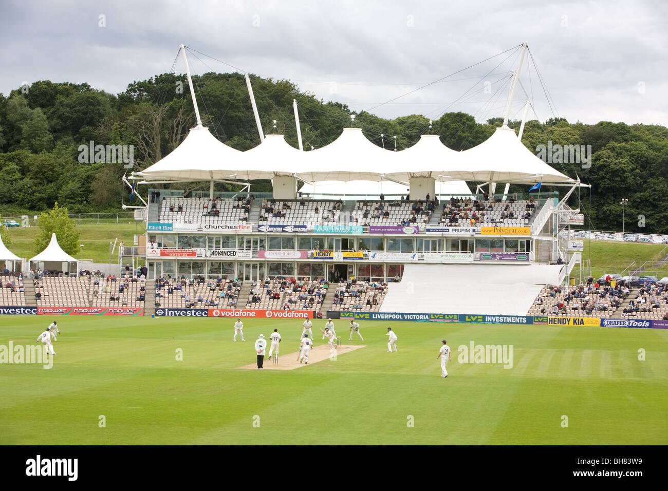 General View Of The Rose Bowl Cricket Stadium In Southampton