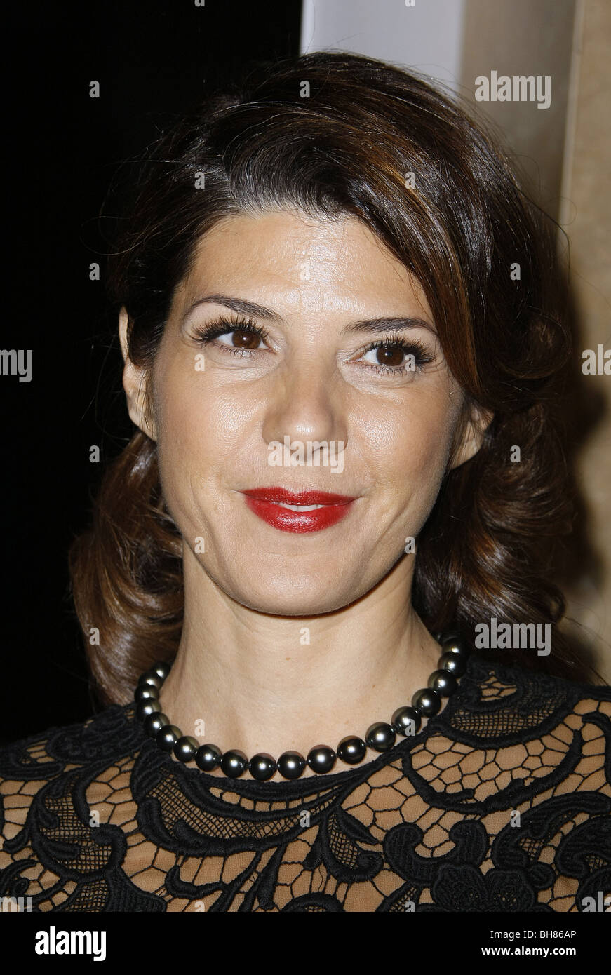 MARISA TOMEI ACTRESS BEVERLY HILLS  CA  USA 27/10/2008 - Stock Image