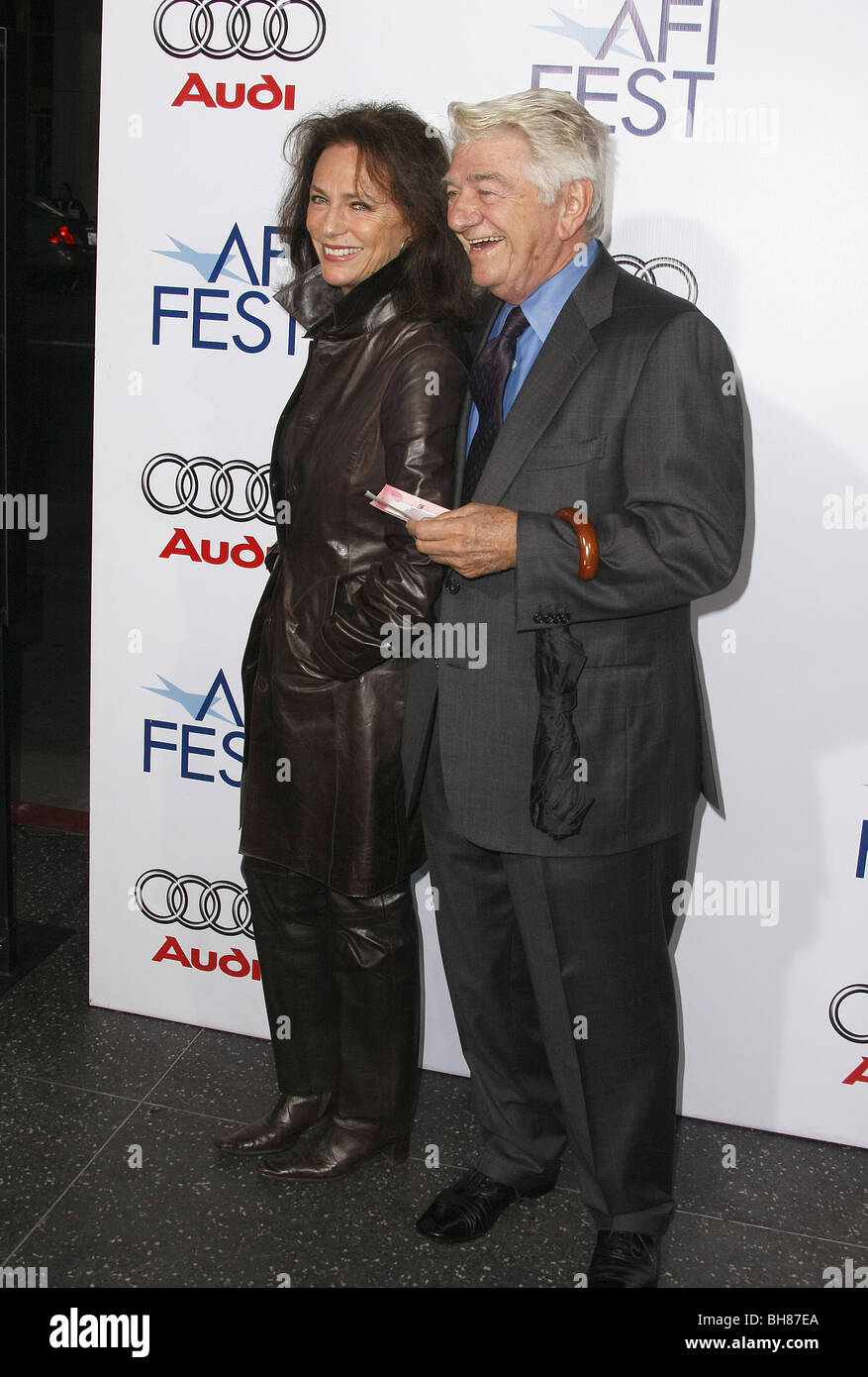 JACQUELINE BISSET  SEYMOUR CAS ACTORS HOLLYWOOD  LOS ANGELES  CA  USA 01/11/2008 - Stock Image