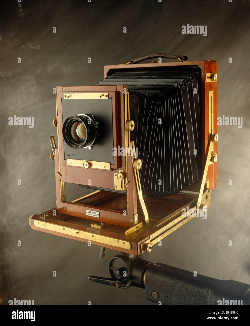 Old fashioned camera - Stock Image