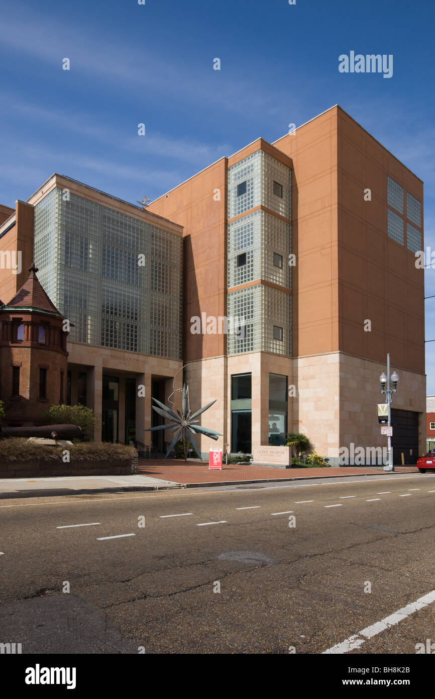Ogden Museum of Southern Art, Warehouse District, New Orleans, Louisiana - Stock Image