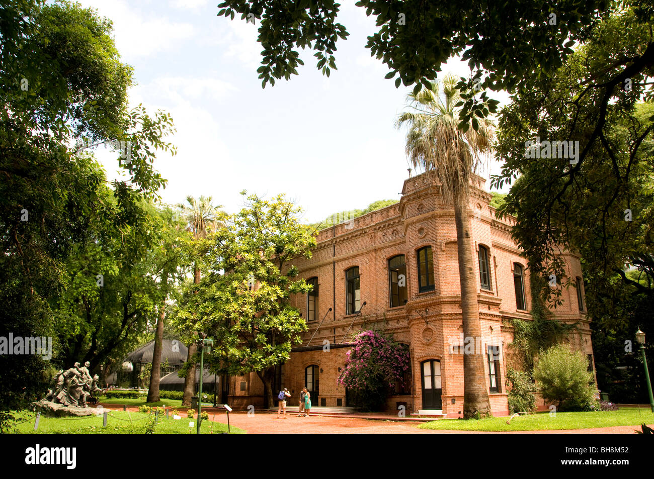 Buenos Aires Argentina Jardin Botanico Botanical Gardens Charles Thays - Stock Image