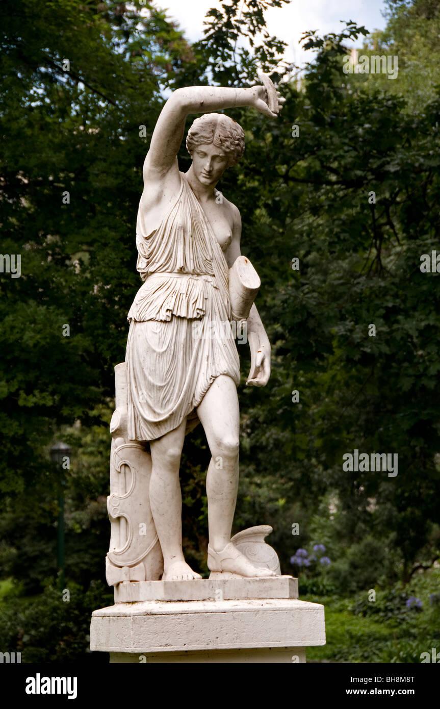 Amazona Buenos Aires Argentina Jardin Botanico Botanical Gardens Charles Thays - Stock Image
