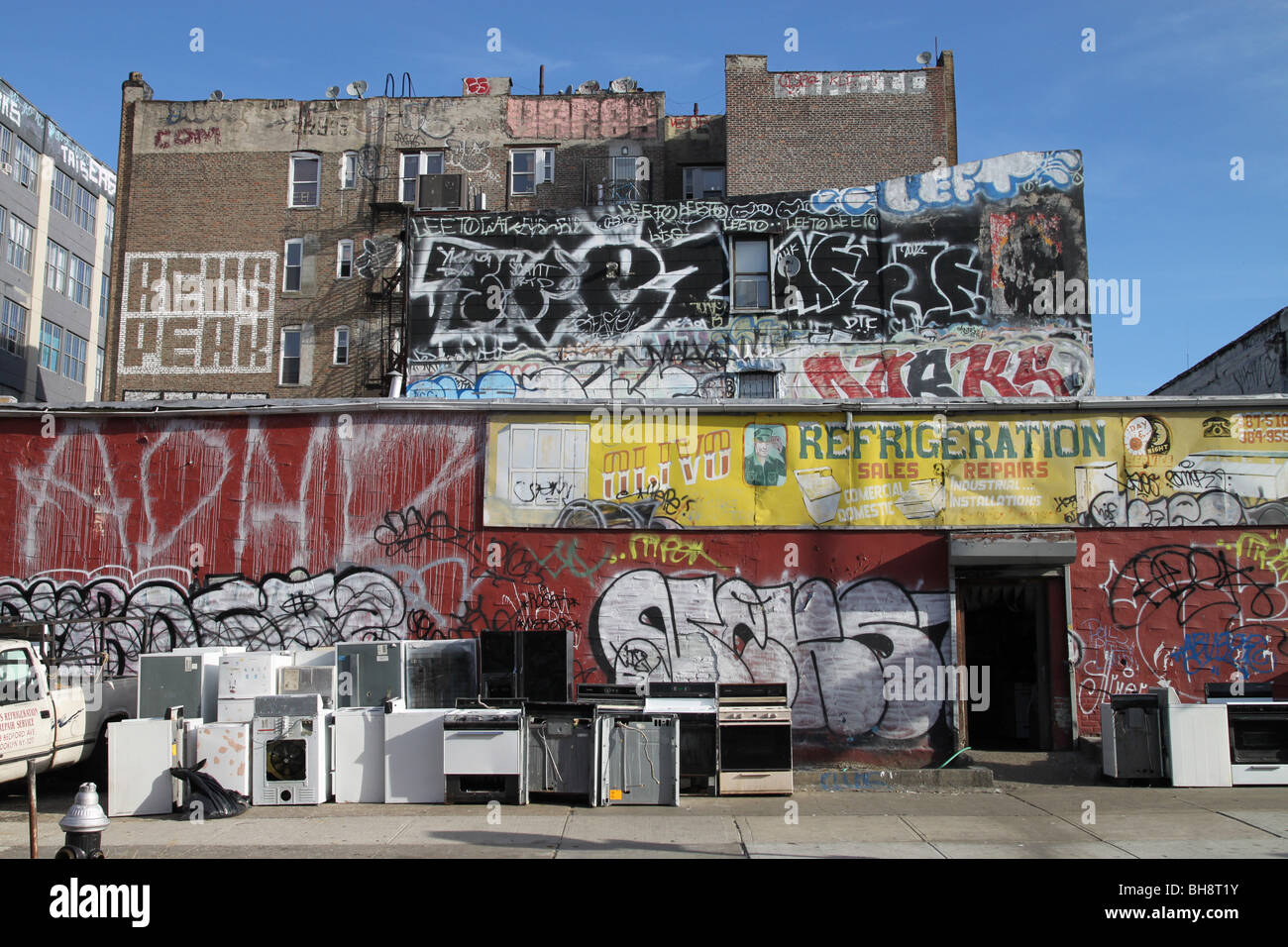 New york slum stock photos new york slum stock images for Art and craft store in brooklyn ny
