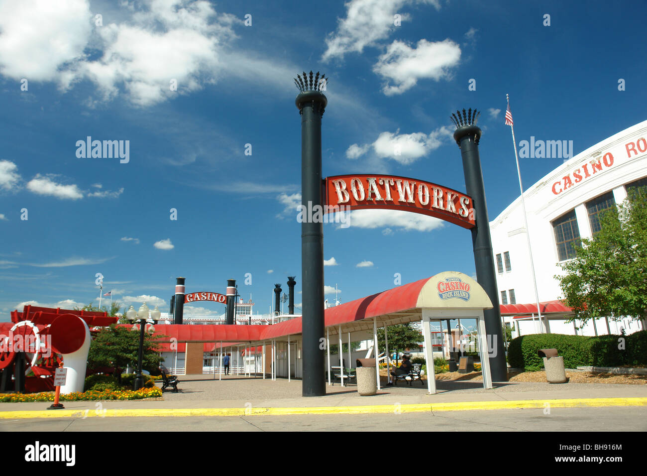 ajd65038 rock island il illinois jumer s casino riverboat stock rh alamy com
