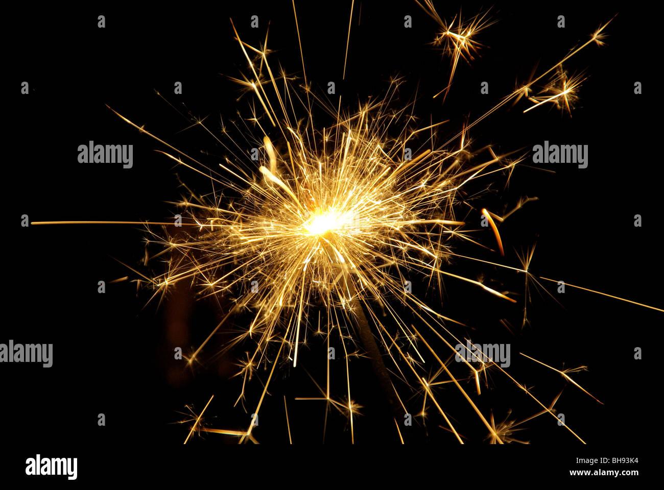 Wunderkerze - sparkler 05 - Stock Image