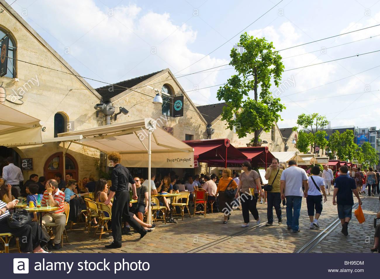 Paris, Parc de Bercy - Stock Image