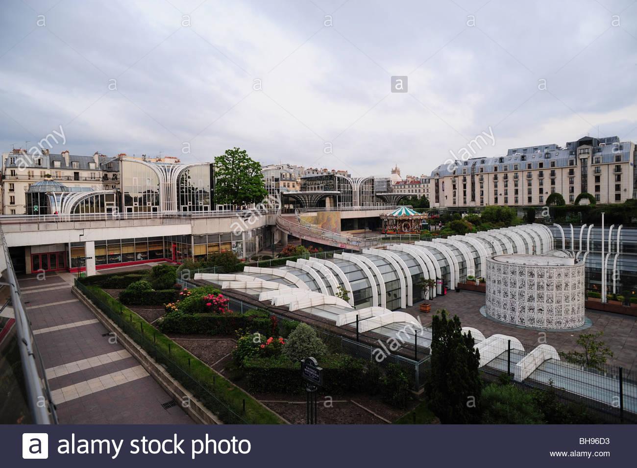 Paris, Forum des Halles - Stock Image