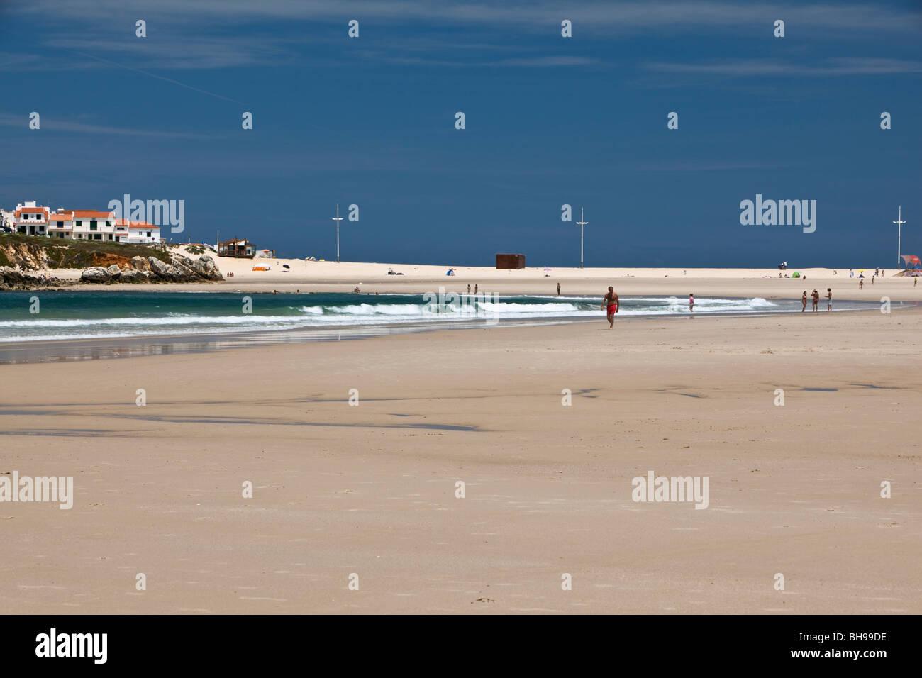 Baleal beach Peniche Estremadura Portugal - Stock Image