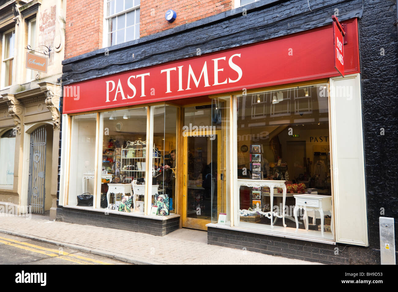 Past Times Shop Hereford Herefordshire - Stock Image