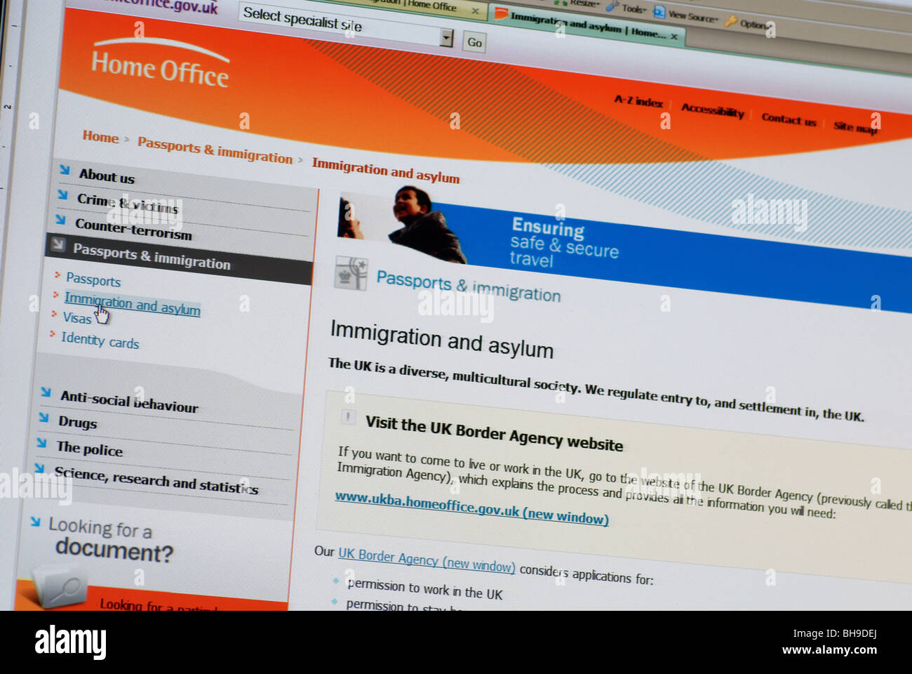 Home Office Immigration Stock Photos & Home Office Immigration Stock ...