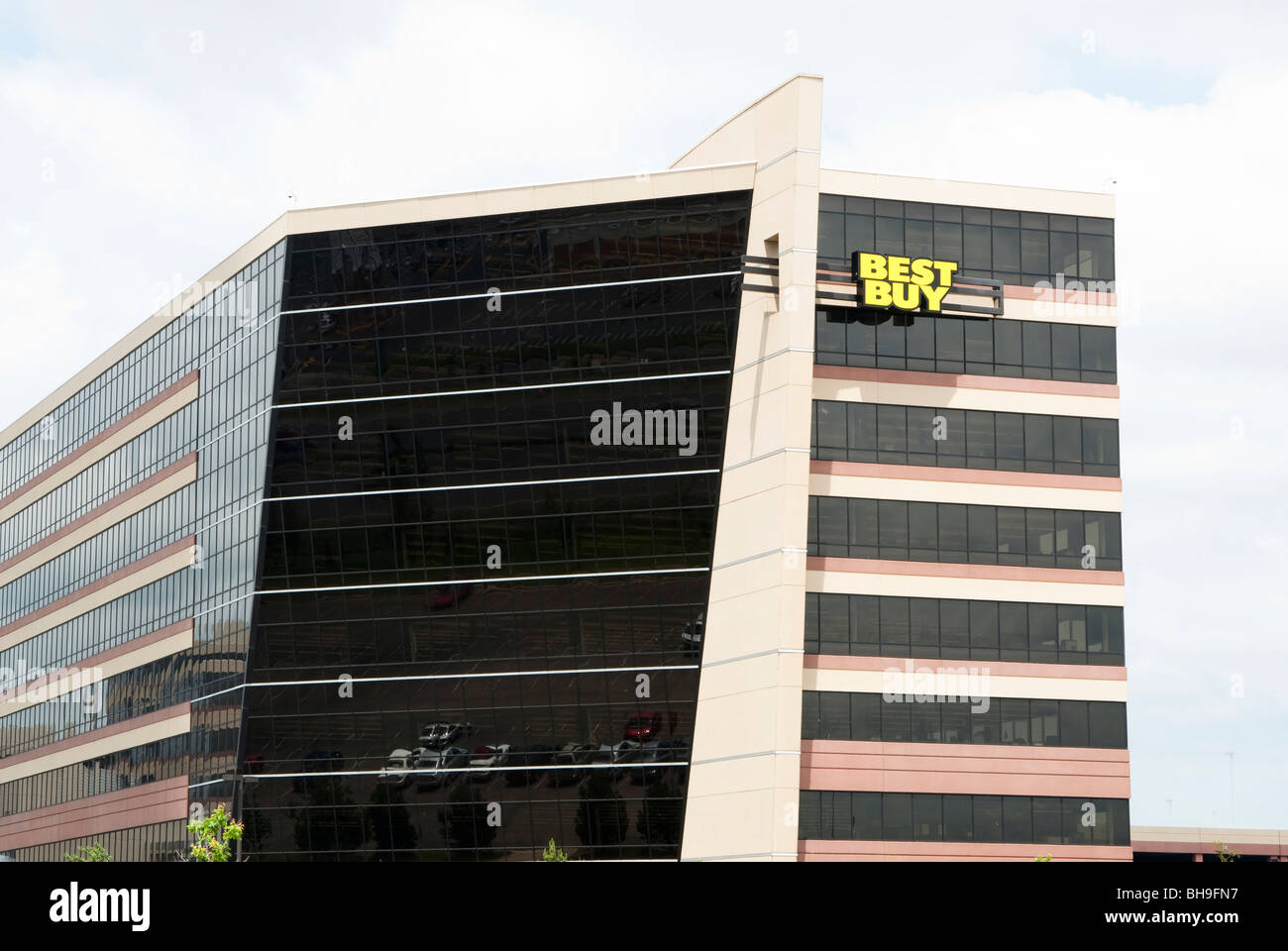 Best Buy corporate headquarters office building in Bloomington, Minnesota - Stock Image
