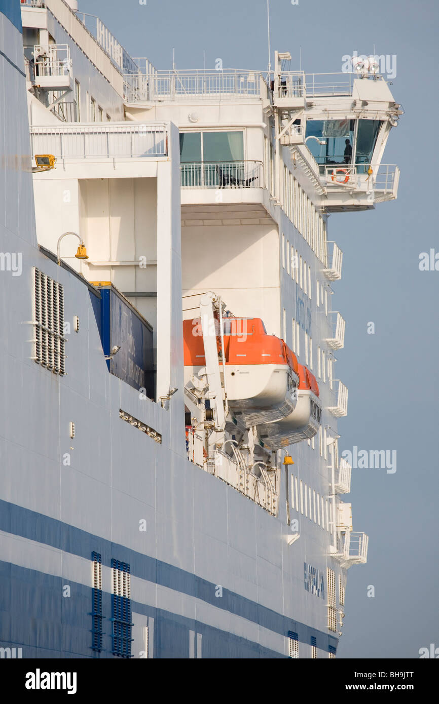 The Finnlines Star-Class ro/pax-ferry Europalink. - Stock Image