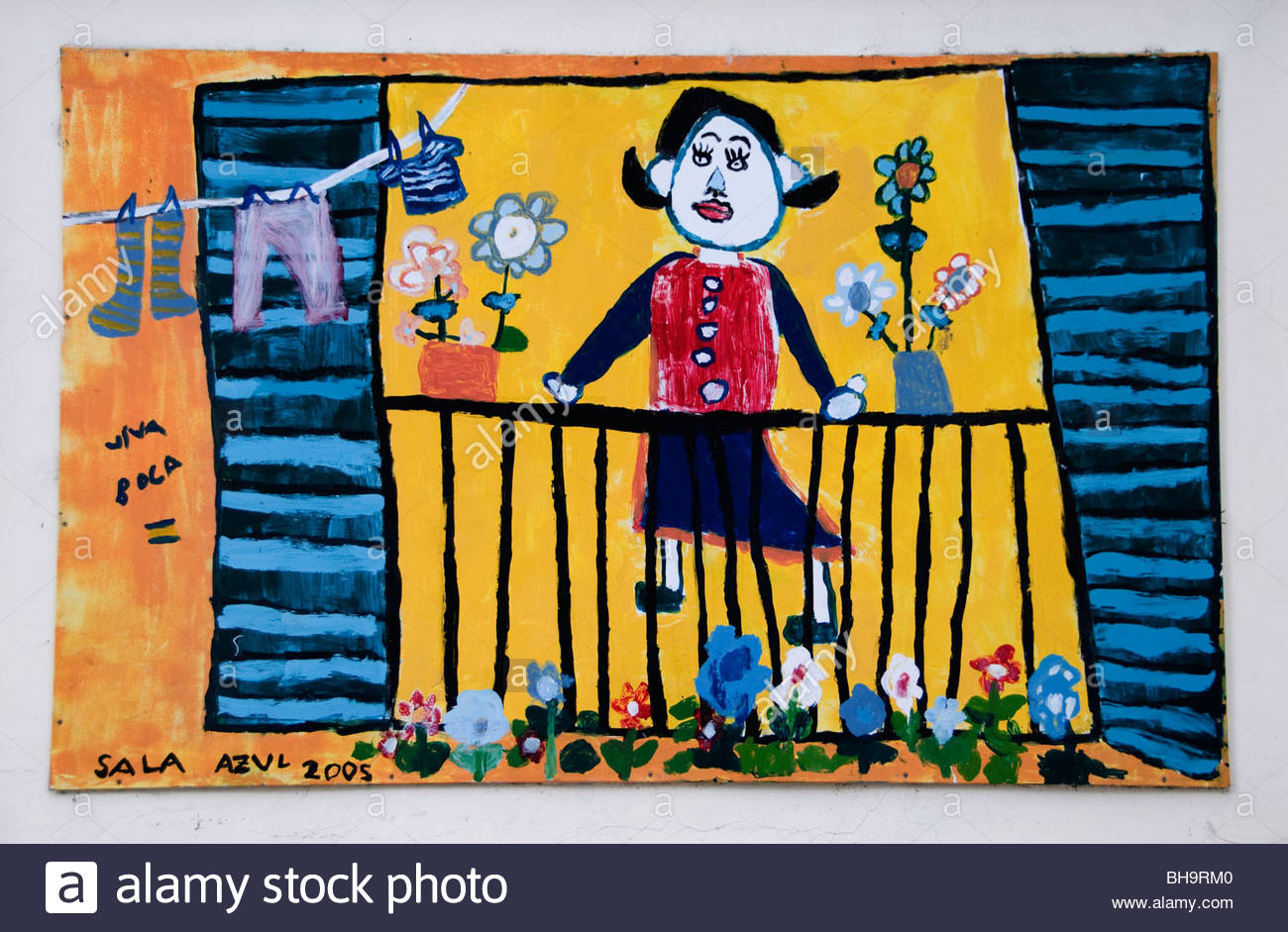 Buenos Aires Argentina La Bocainfant school kindergarten - Stock Image