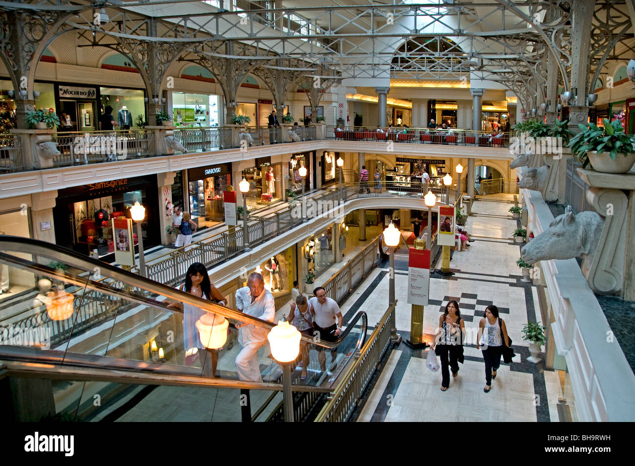 Buenos Aires Argentina Patio Bullrich Shopping Mall - Stock Image