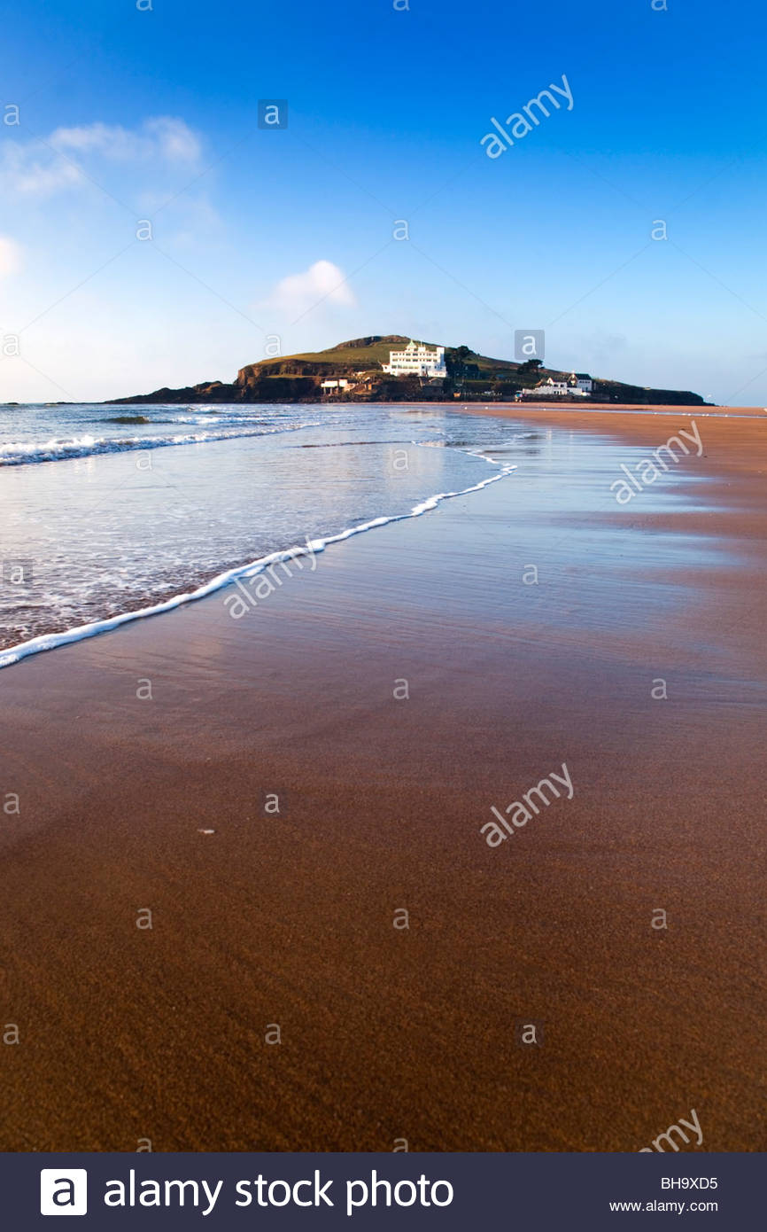 Burgh Island; Bigbury on Sea; Devon - Stock Image