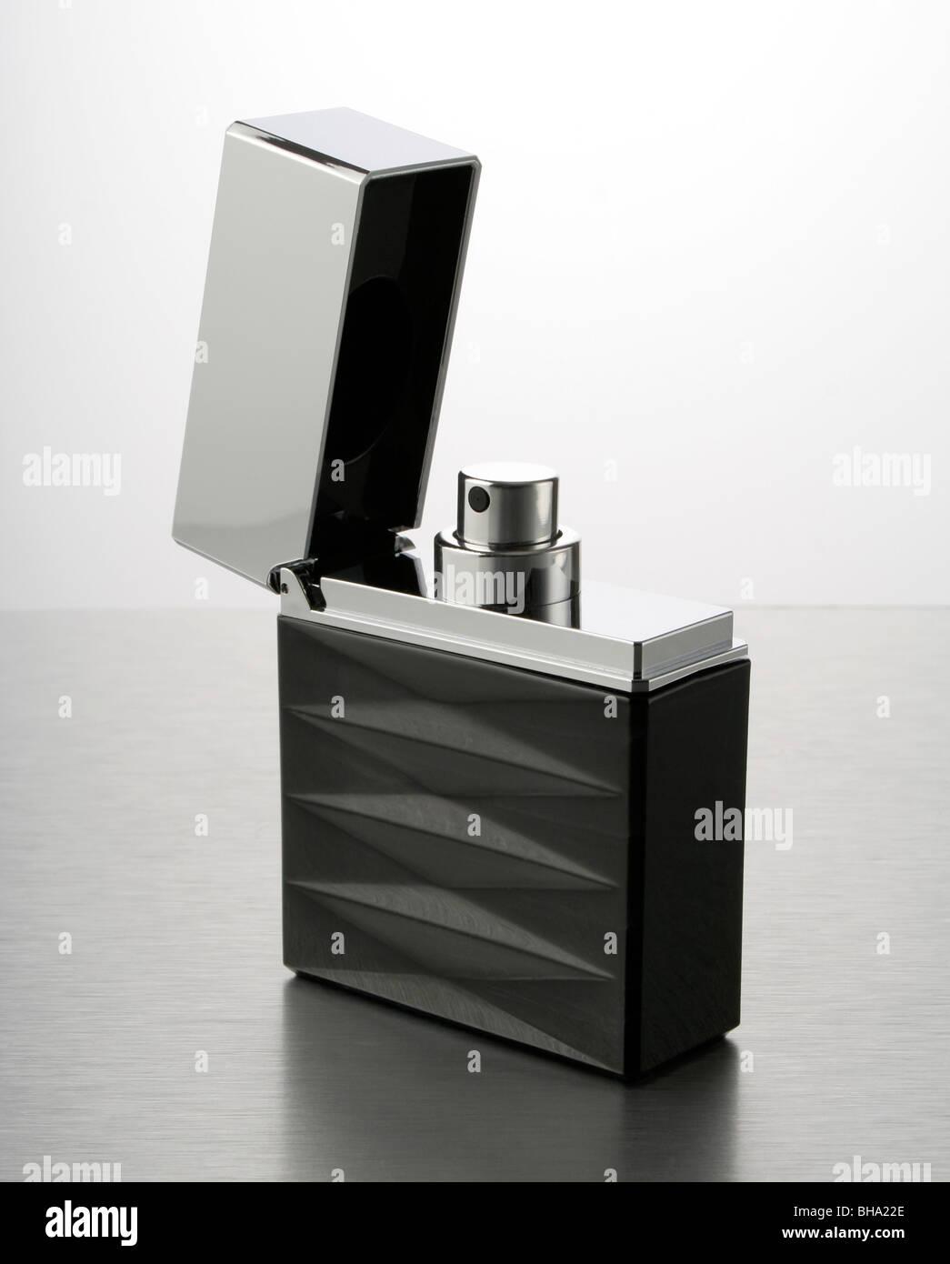 Giorgio Armani Attitude Eau de Toilette in the shape of a lighter. - Stock Image