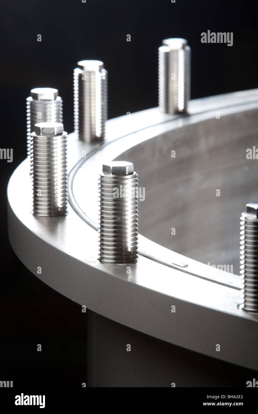 stainless steel products - Stock Image