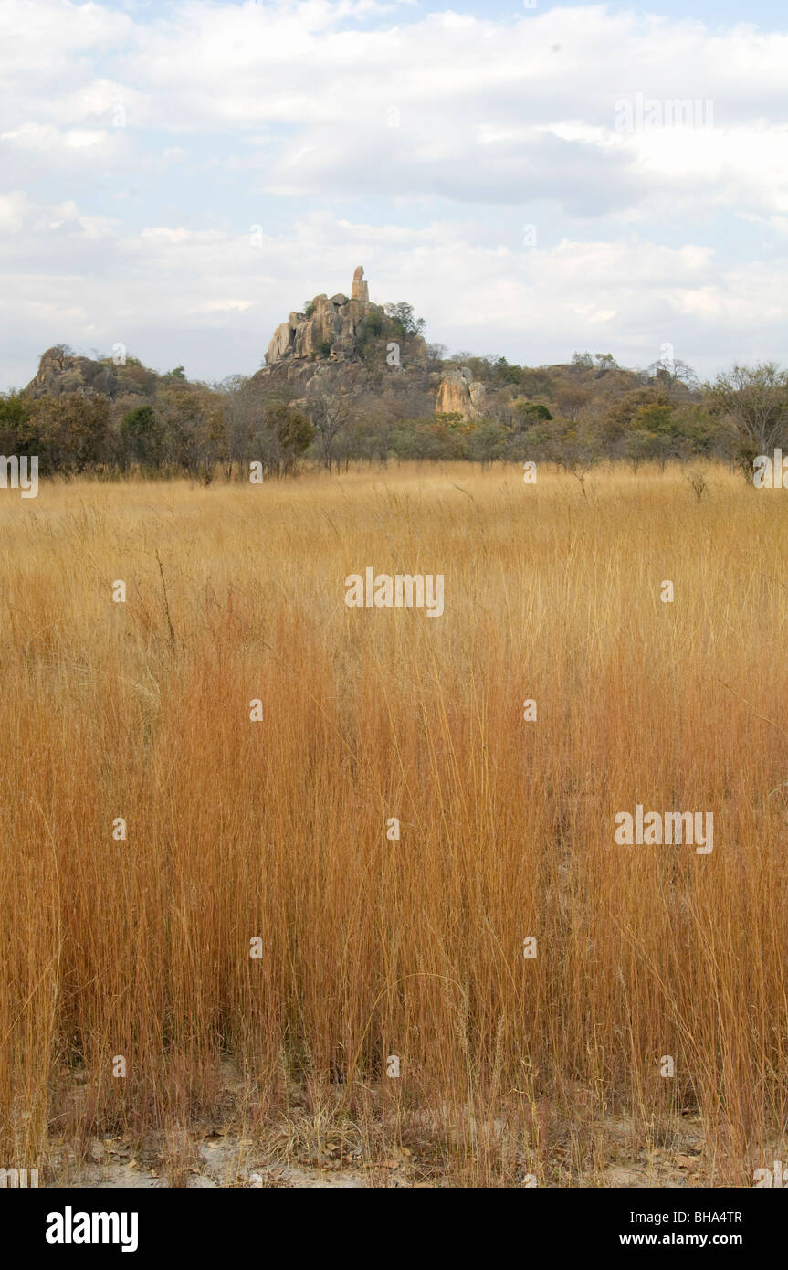Rhodes Matopos National Park Zimbabwe Africa - Stock Image