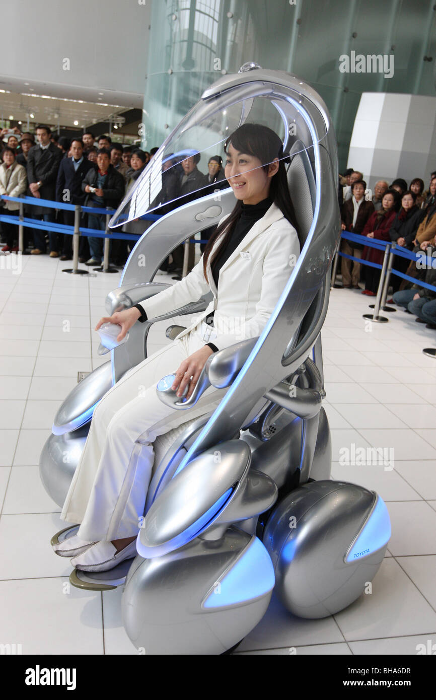 Toyota I-Unit vehicle on show at the Toyota Hall, Toyota city, Japan, Monday, January 28th 2008. - Stock Image