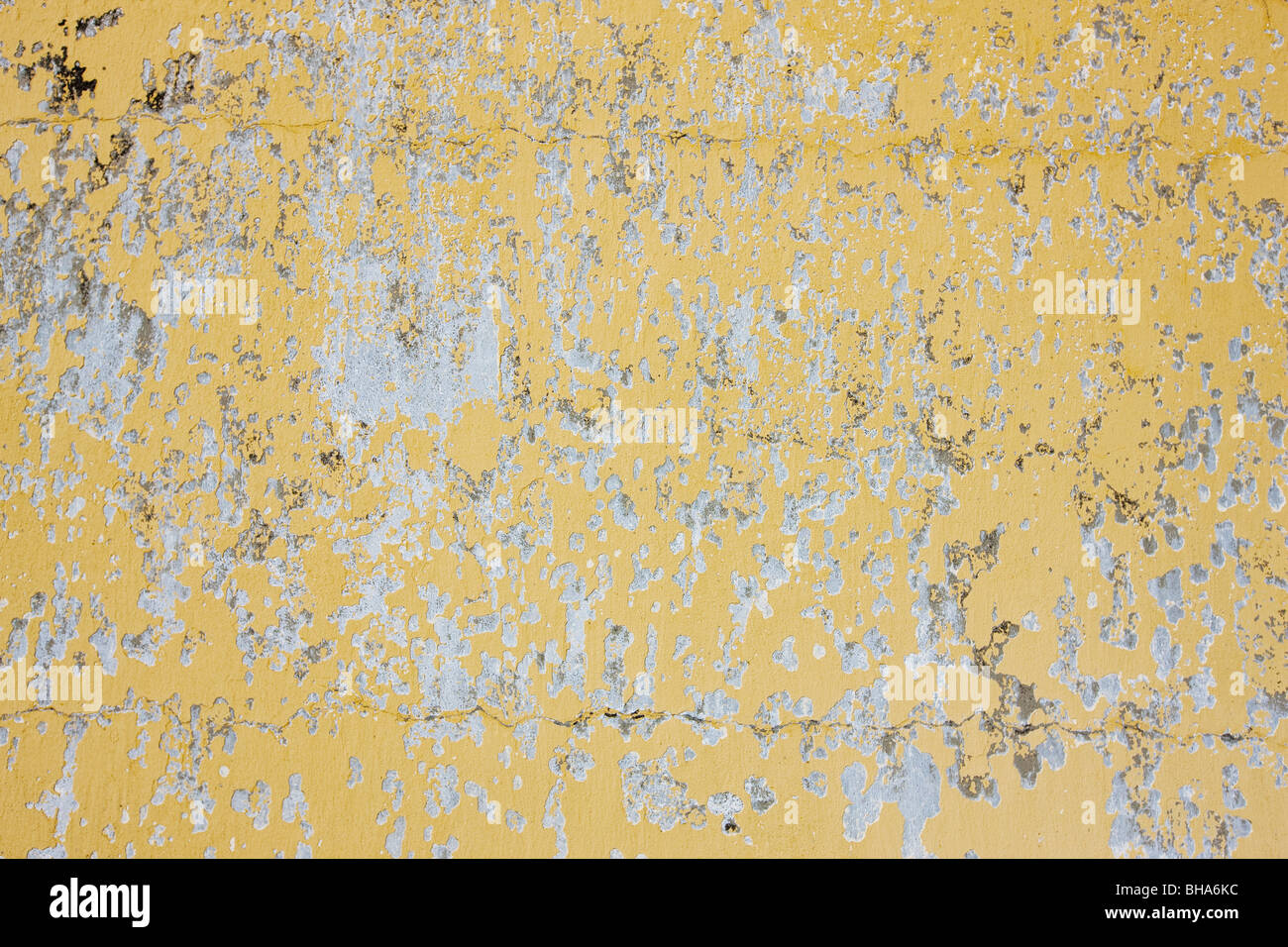 Old and weathered wall background - Stock Image