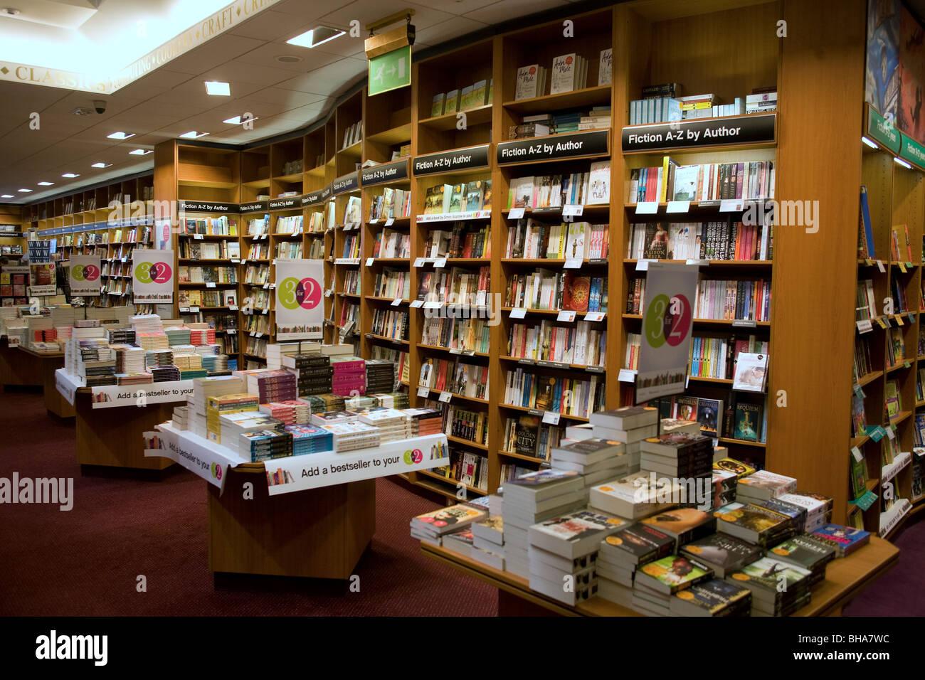 Waterstone's Bookshop - Stock Image