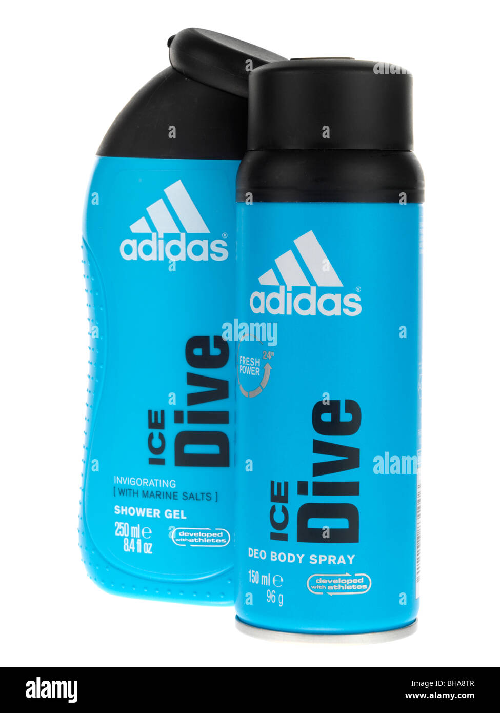 Shower Gel and Deodorant - Stock Image