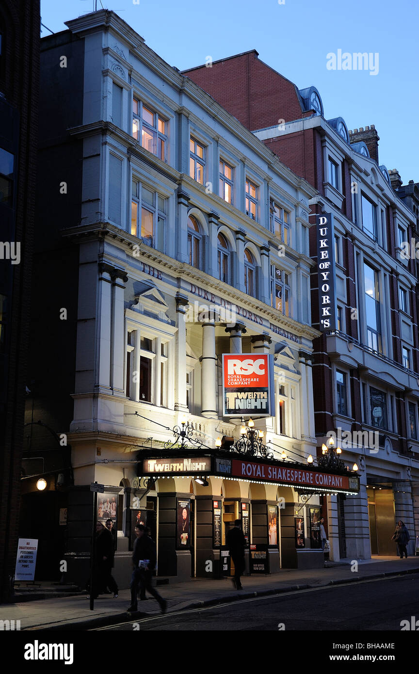 duke of york theatre RSC play west end st martins - Stock Image