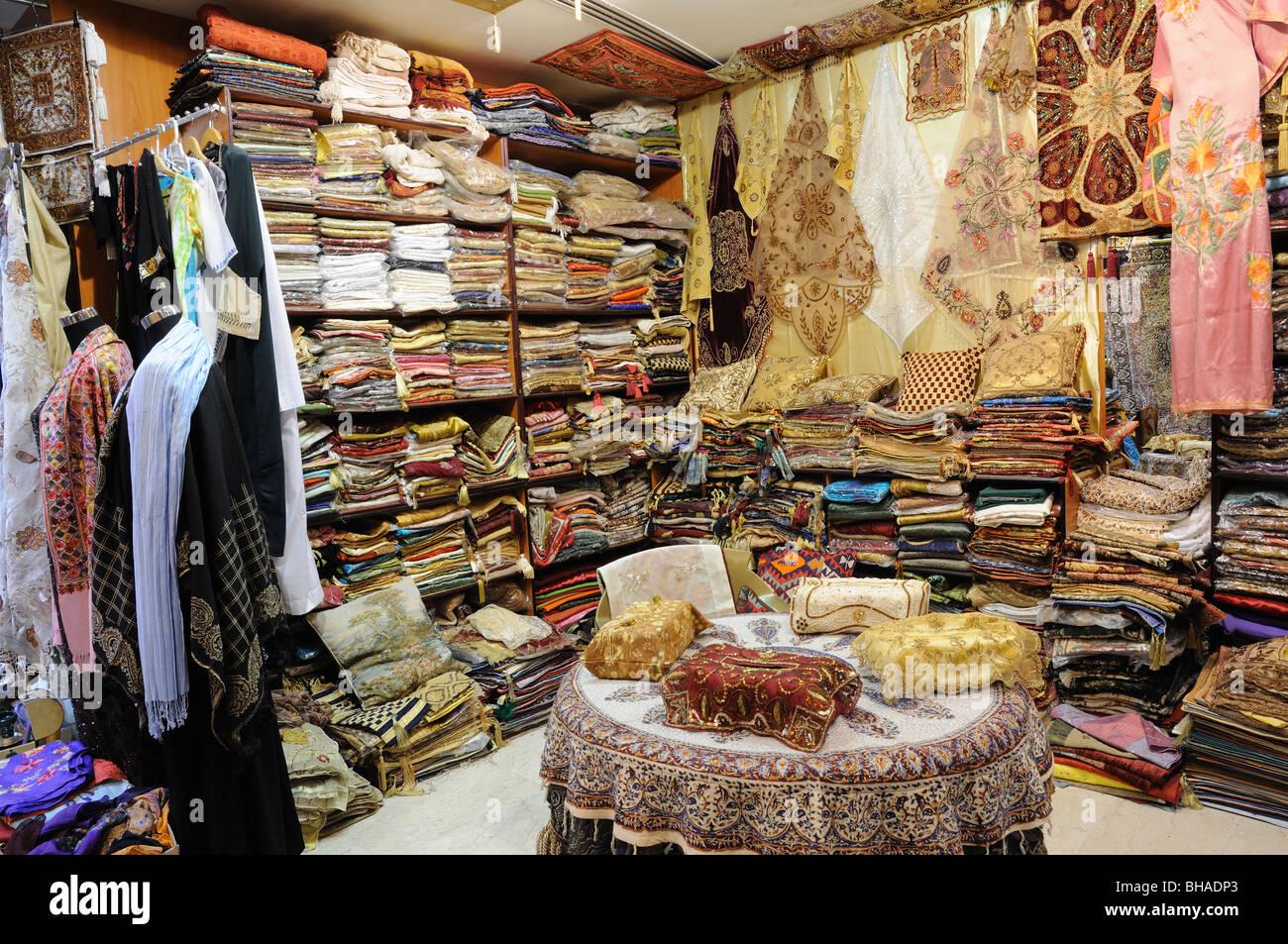 Deira Dubai Clothes Stock Photos & Deira Dubai Clothes Stock