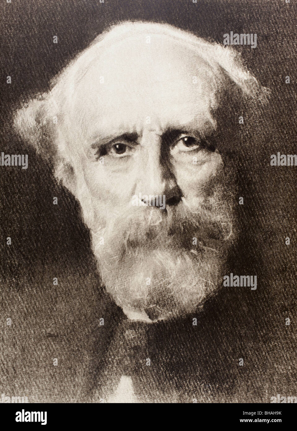 Alexandre-Félix-Joseph Ribot, 1842 to 1923. French politician, four times Prime Minister. - Stock Image