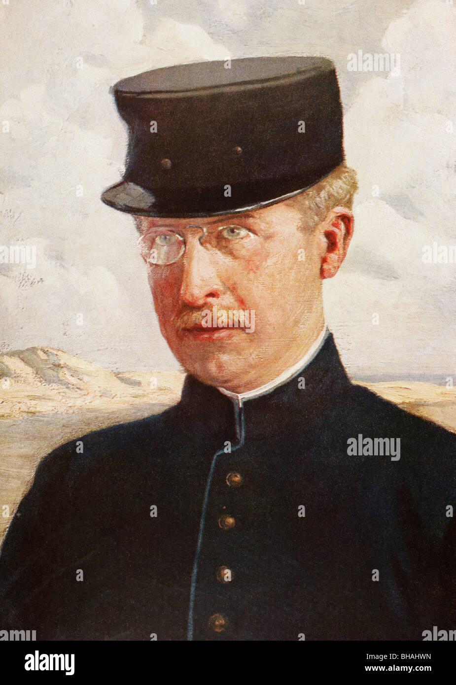 Albert I, King of the Belgians, 1875 – 1934. - Stock Image